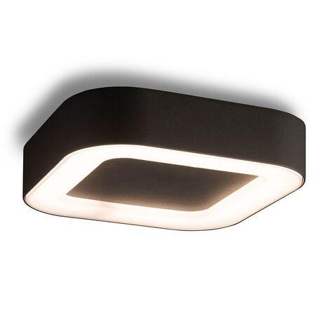 Потолочный светодиодный светильник Nowodvorski Puebla LED 9513, IP44, LED 12W 538lm, белый, черный, металл, пластик