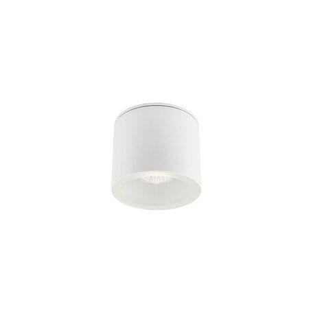 Потолочный светильник Nowodvorski Hexa 9564, IP44, 1xGU10x35W, белый, металл, стекло
