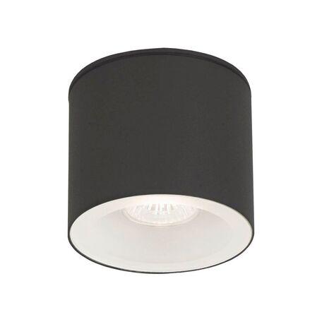 Потолочный светильник Nowodvorski Hexa 9565, IP44, 1xGU10x35W, прозрачный, серый, металл, стекло