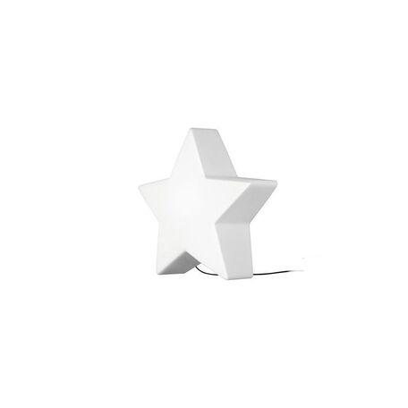 Садовый светильник Nowodvorski Star 9426, IP44, 1xE27x40W, белый, пластик