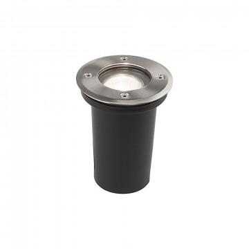 Встраиваемый светильник Nowodvorski Paoli 9554, IP67, 1xGU10x10W, прозрачный, сталь, металл, стекло