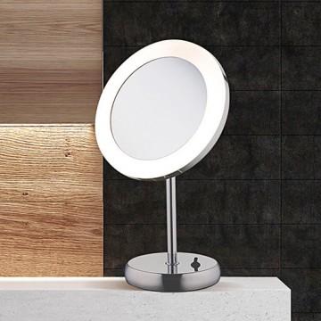 Косметическое зеркало со светодиодной подсветкой и увеличением Nowodvorski MAKEUP LED 9504, IP44, LED 3W